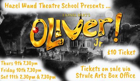Oliver Jr presented by Hazel Wand
