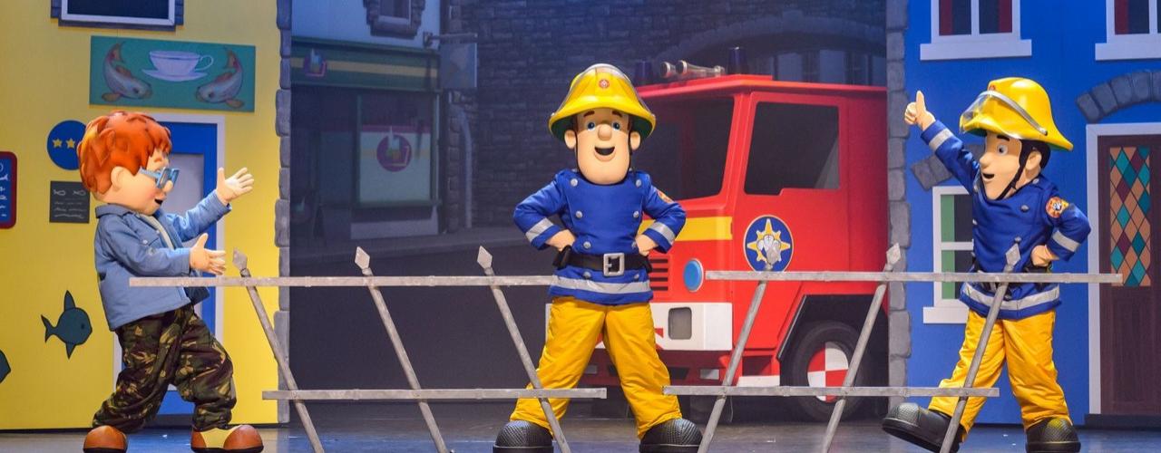 banner image for Fireman Sam Saves the Circus