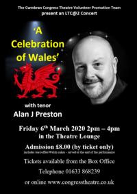 A Celebration of Wales with Alan J Preston Poster