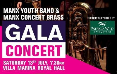 image of Manx Youth Band & Manx Concert Brass Gala Concert