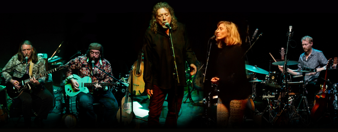 banner image for Saving Grace featuring Robert Plant and Suzi Dian
