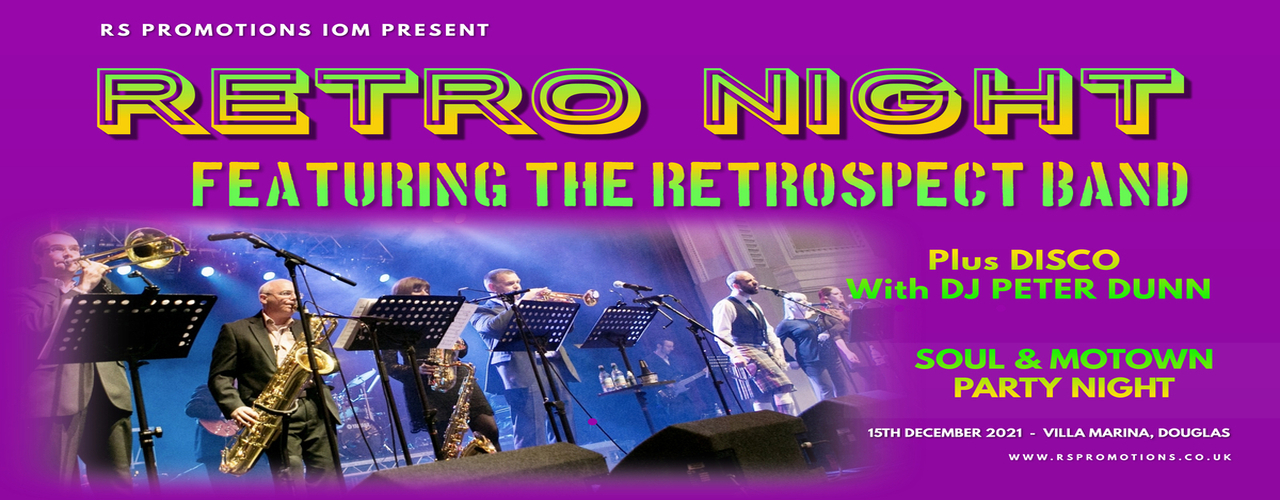 banner image for Retro Night Featuring Retrospect plus Disco with DJ Peter Dunn