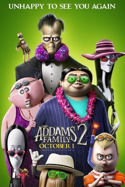 The Addams Family 2 (TBC) RELAXED ENVIRONMENT SCREENING at Torch Theatre