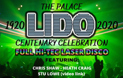 image of Palace Lido Hi-Tec Laser Disco - Centenary Celebration