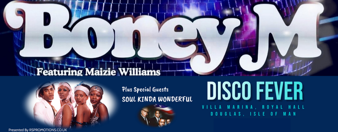 banner image for Boney M (with Special Guests Soul Kinda Wonderful + Aftershow Disco)