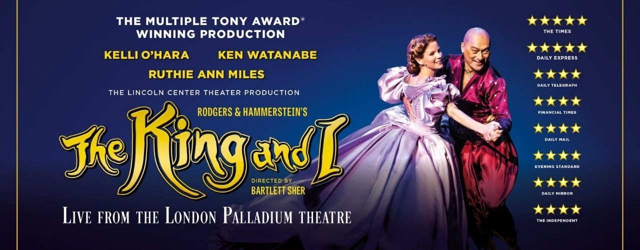 banner image for The King & I - from The London Palladium