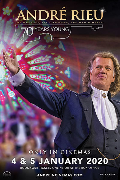 André Rieu - 70 Years Young [ENCORE] at Torch Theatre