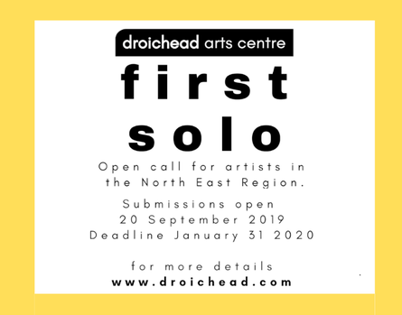 Droichead Arts Centre -            First Solo