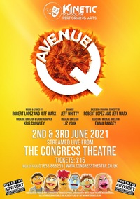 Avenue Q - Kinetic School of Performing Arts Poster