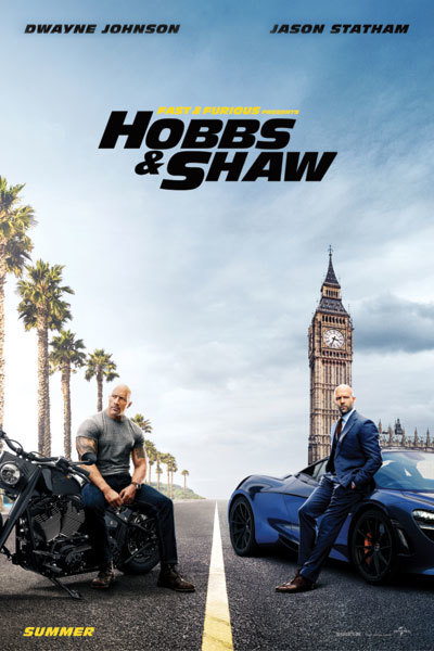 Fast & Furious Presents: Hobbs & Shaw at Torch Theatre