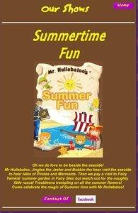 Mr Hullabaloo's Summer Fun
