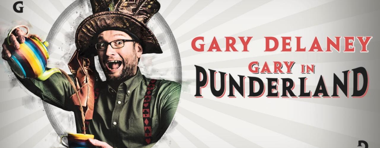 banner image for Gary Delaney - Gary in Punderland