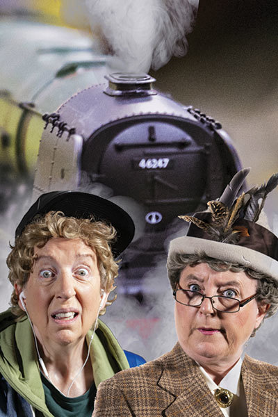 Strangers on a Train Set at Torch Theatre