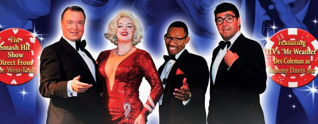 banner image for LAS VEGAS LIVE with THE RAT PACK & Marilyn