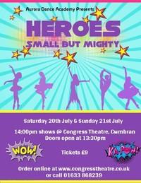 Heroes - Aurora Dance Academy Poster