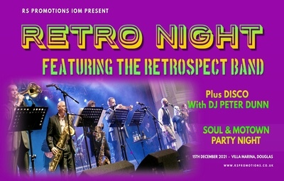 image of Retro Night Featuring Retrospect plus Disco with DJ Peter Dunn