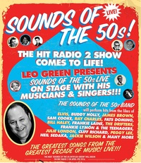 Leo Green Presents Sounds of the 50s Poster
