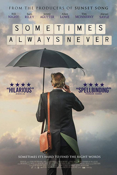 Sometimes Always Never (12A) at Torch Theatre