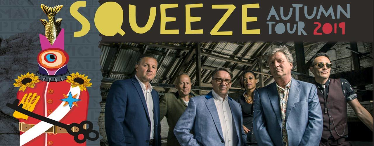 banner image for Squeeze - Autumn Tour 2019