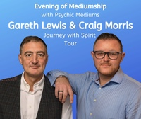 Evening of Mediumship with Psychic Medium's Craig Morris & Gareth Lewis Poster