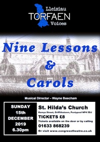 Nine Lessons & Carols Poster