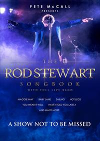 The Rod Stewart Songbook starring Pete McCall Poster