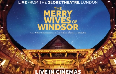 thumbnail image for Merry Wives of Windsor Live from Shakespeare's Globe