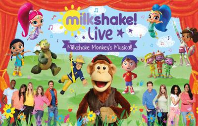 image of Milkshake Live - Milkshake Monkey's Musical