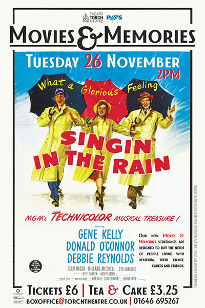 Movies & Memories: Singin' In The Rain at Torch Theatre