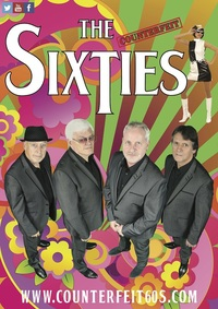 The Counterfeit Sixties 2020 tour Poster