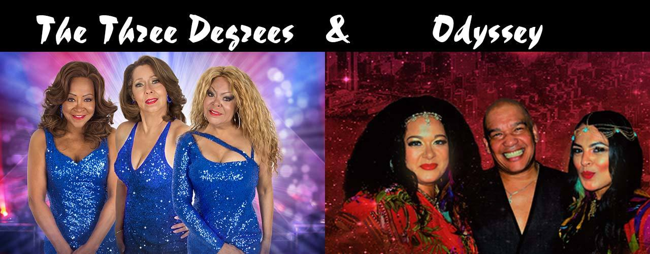 banner image for Legends of Disco - The Three Degrees & Odyssey