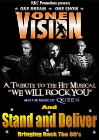 One Vision Tribute to the musical We Will Rock You Poster
