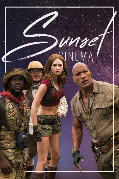 Jumanji (12A) - Sunset Cinema | St Clears Rugby Ground at Torch Theatre