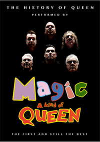 The History Of Queen starring Magic Poster