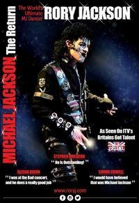 Rory Jackson - Michael Jackson 'The Return' Poster