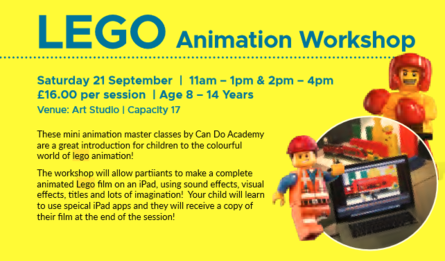 Lego Animation Workshop Aut/Win 19