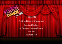 Fusion Dance showcase Poster