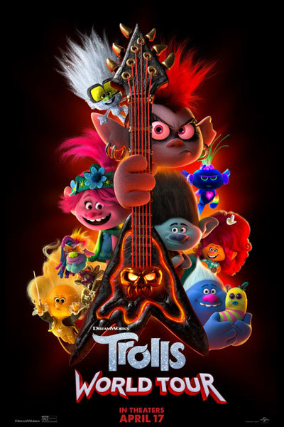 Trolls World Tour (PG) RELAXED ENVIRONMENT SCREENING at Torch Theatre