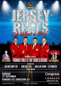 Jersey Beats - Oh What a Nite! Poster