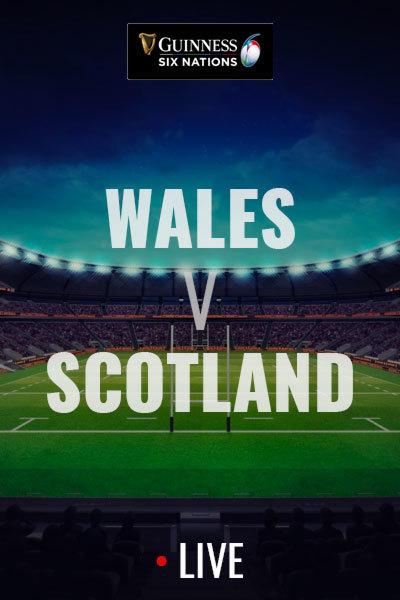 2020 Six Nations - Wales v Scotland at Torch Theatre