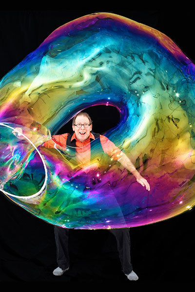 The Amazing Bubble Man at Torch Theatre