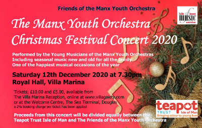 image of Manx Youth Orchestra Christmas Festival Concert