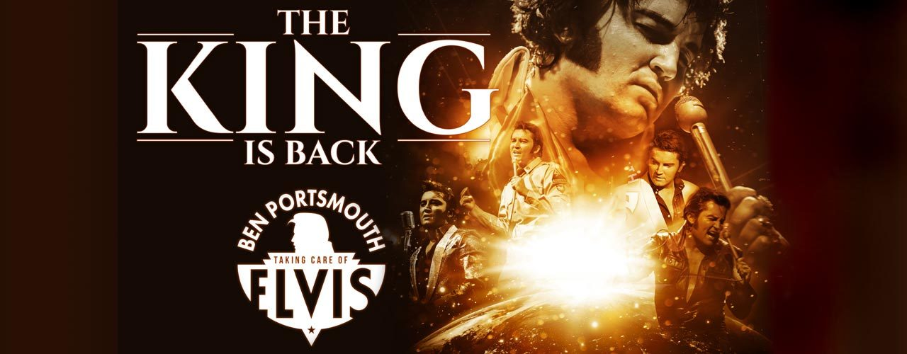 banner image for The King is Back featuring Ben Portsmouth