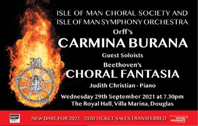 image of IOMCS presents Beethoven's Choral Fantasia & Orff's Carmina Burana