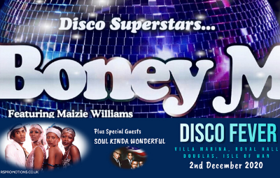 image of Boney M (with Special Guests Soul Kinda Wonderful + Aftershow Disco)
