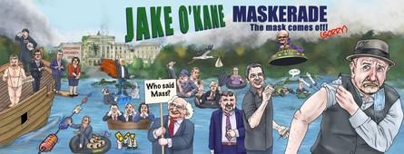 Jake O'Kane – Maskerade – The Mask Comes Off! (Sorry)