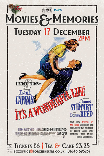 Movies & Memories: It's a Wonderful Life at Torch Theatre
