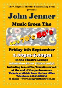 John Jenner music from the 60/70/80's Poster