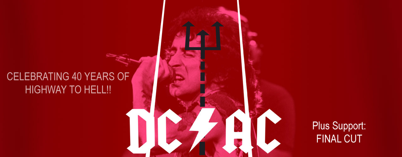 banner image for DC/AC – Highway to Hell!!