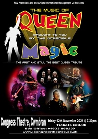 Magic -  A History of Queen Poster